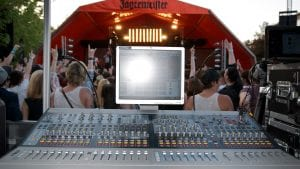 PA hire for festivals