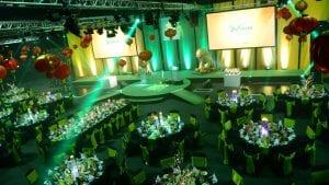 Awards night lighting hire