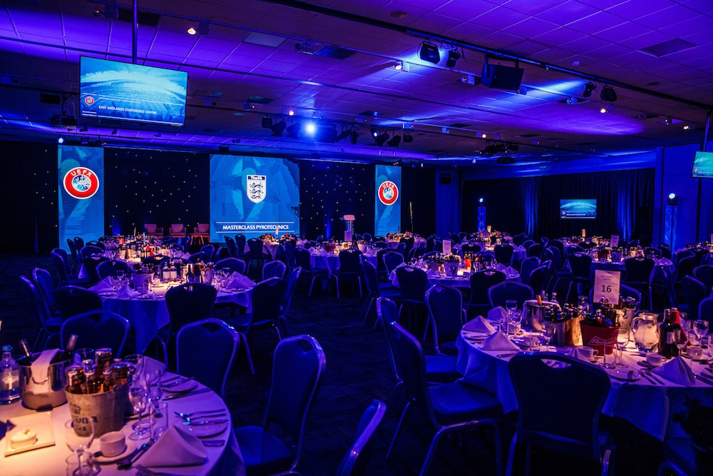 awards night stage equipment hire